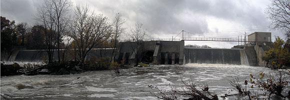 Ballville dam