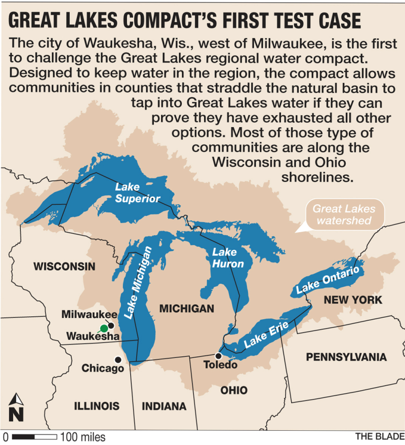 Great Lakes compact graphic