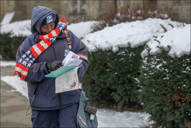 Postal worker Jennifer Allen