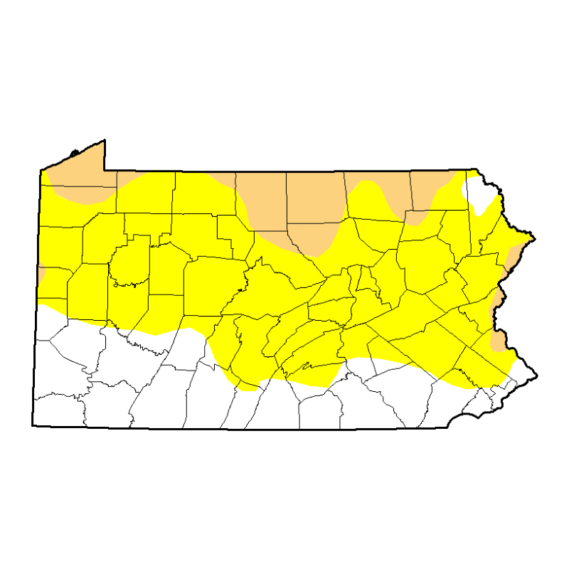 US Drought Monitor Pennsylvania JPEG